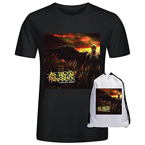 As Blood Runs Black Ground Zero Men T-Shirt Black (Kat Emerson compare prices)