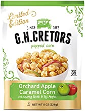 GH Cretors Popped Caramel Corn Orchard Apple 8 Ounce