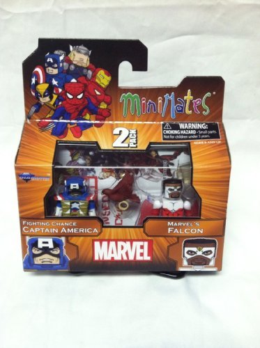 Marvel Minimates TRU Wave 18 Fighting Chance Captain America And Marvel's Falcon
