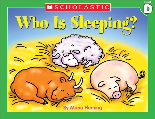 Little Leveled Readers: Who Is Sleeping? (Level D) PDF