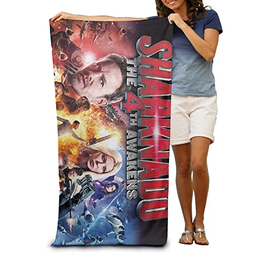 Unisex Sharknado 4 The 4th Awakens Swimming Towel/Bath Towel/Custom Towel 31.5