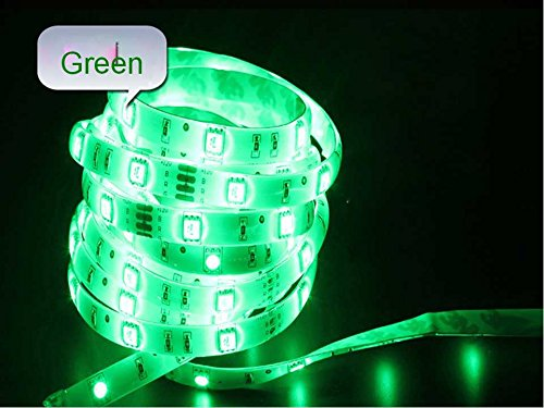 Happy Hours® Bright Green Non-Waterproof Led Flexible 120 Led/M Light Tape Holiday Christmas Led Tv Wall Kitchen Backlighting Birthday Party Led Garden Home Indoor Outdoor Decoration Pack Of 9 M + 12V Dc