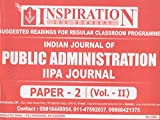 Indian Journal of Public Administration IIPA Journal Paper-2 (Vol.-II)