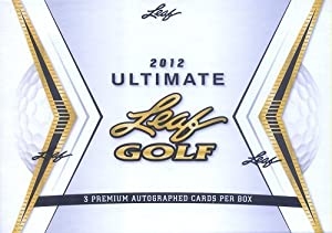2012 Leaf Ultimate Golf (3 autographs box)
