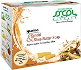 SSCPL Herbals Sandal & Shea Butter, Combo pack of 4 soaps, 400gms