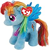 Ty UK 7-inch My Little Pony Rainbow Dash Beanie