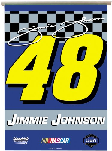 NASCAR Jimmie Johnson #48 RV Awning Banner