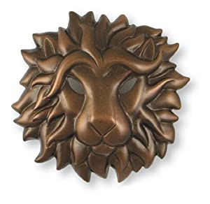 Michael Healy Designs MH1534 Regal Lion Door Knocker, Oiled Bronze