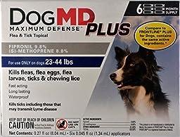 Dog MD Plus 23-44 Lb Dog Flea & Tick Treatment 6 Count