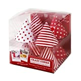 Red & White Crazy Cornets 1 Pack