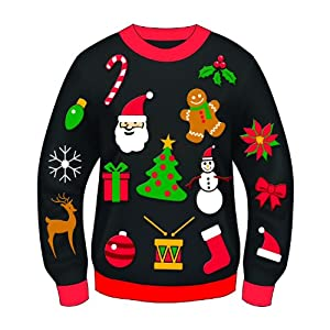 Forum Novelties Women's Everything Christmas Sweater by Forum Novelties