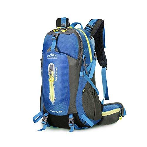 Outdoor sac à dos d'alpinisme / randonnée sac de Voyage multifonction-bleu ciel 40L