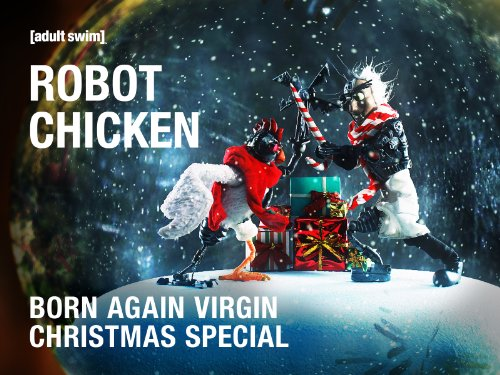 Robot Chicken Born Again Virgin Christmas Special