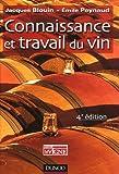 echange, troc Jacques Blouin, Emile Peynaud - Connaissance et travail du vin