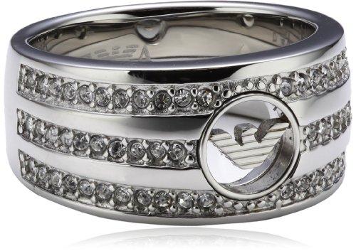 Emporio Armani Damen-Ring Edelstahl EGS1707040-6.5 Gr.52 (16.6) EGS1707040-6.5