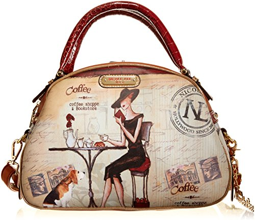nicole-lee-bowler-bag-coffee-one-size