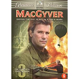 Mac Gyver : L'integrale saison 3 - Coffret 6 DVD [Import belge]