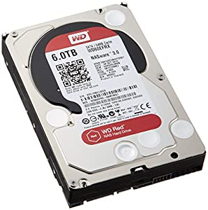 "WD Red 3.5"" Disque dur interne pour NAS 1 à 5 baies 6 To intellipower"