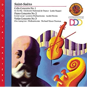 Saint-Sa�ns: Cello Concerto No. 1; Piano Concerto No. 2; Violin Concerto No. 3