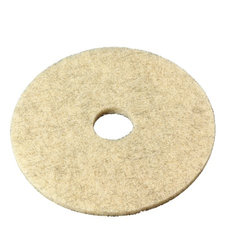 """3M Natural Blend Pad 3500, Tan, 20"""" (Case Of 5) front-75282"""