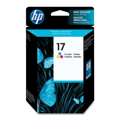 HP 17 Tri-color Original Ink Cartridge (C6625A)