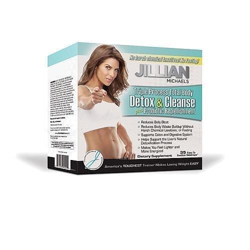 Jillian Michaels Detox & Cleanse, plus Probiotic Replenishment, MetaCaps, 35 ct.