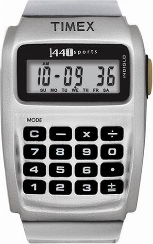 Timex Men's 1440 Sports Calculator Watch #T5B961 - Buy Timex Men's 1440 Sports Calculator Watch #T5B961 - Purchase Timex Men's 1440 Sports Calculator Watch #T5B961 (Timex, Jewelry, Categories, Watches, Men's Watches, Sport Watches)