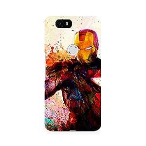 Ebby Iron Man Premium Printed Case For Huawei Nexus 6P