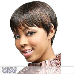 H. SADA (Motown Tress) - Human Hair Full Wig in JET BLACK