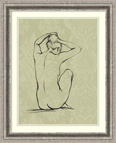 Framed Art Print 'Sophisticated Nude I' by Ethan Harper