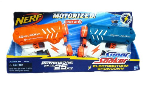 Nerf Super Soaker Electrostorm Showdown Set - Target Exclusive