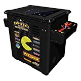 Namco Pac Mans Arcade Party Cocktail Game with Black Cabinet