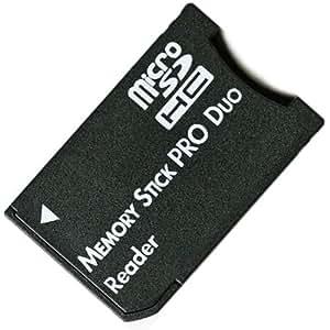 No brand microSDHCカードをメモリスティックPRODuoへ変換アダプタ 並行輸入バルク品