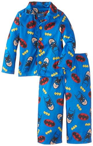 Komar Kids Little Boys' Batman Button Front Pajama Set at Gotham City Store
