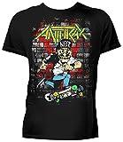 Anthrax- Skater Guy T-Shirt Size XL
