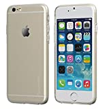 iPhone 6s Case Clear, LUVVITT [Ultra Slim] 0.6mm Transparent Flexible TPU Soft Cover for Apple iPhone 6 / iPhone 6s (4.7 inch screen) - Clear