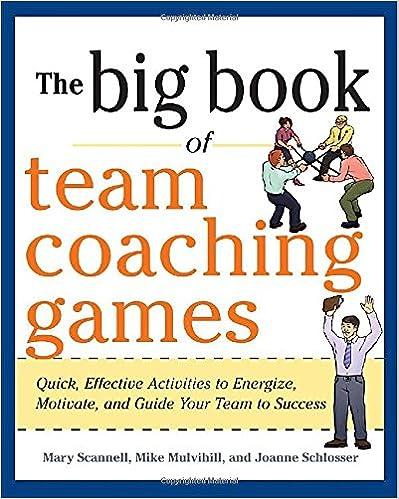 Team coaching activities
