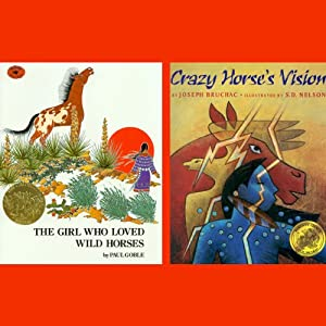 The Girl Who Loved Wild Horses / Crazy Horse's Vision Audiobook