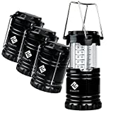 Etekcity 4 Pack Portable Outdoor LED Camping Lantern with...