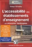 L'accessibilit� des �tablissements d'...