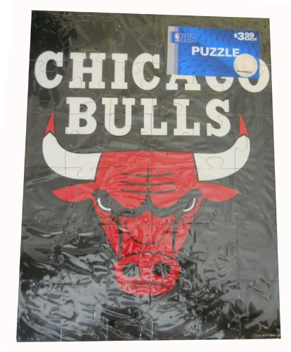 "Chicago Bulls 13"" x 10"" NBA 36-Piece Kids Sports Puzzle - 1"