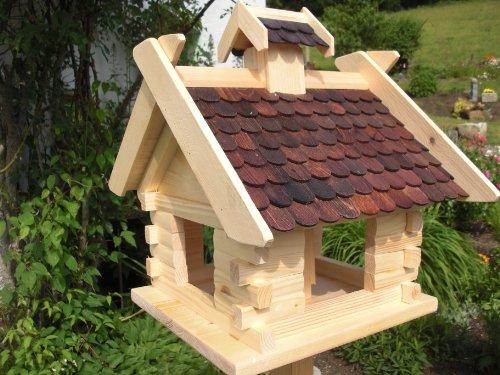 vogelhaus vogelh user vogelfutterhaus vogelh uschen aus holz blitzversand dhl xxxl schwarz. Black Bedroom Furniture Sets. Home Design Ideas