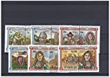 Mint Kings and Queens stamps for collectors - 12 stamps with William the Conqueror Battle of Hastings and Charles II - Never hinged