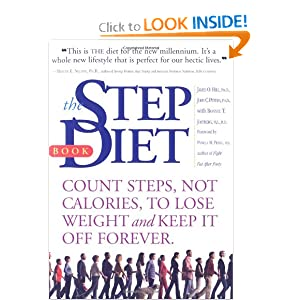 Click to buy Lose Weight Walking: The Step Diet: Count Steps, Not Calories to Lose Weight and Keep It off Forever from Amazon!