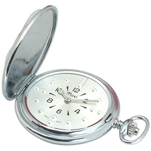 pocket watches mens chrome manual braille pocket