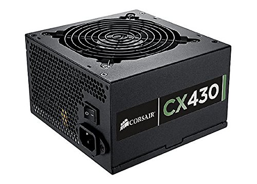 Corsair CX Series, CX430M, 430 Watt (430W), Semi Modular Power Supply, 80+ Bronze Certified (430 Watt Modular compare prices)