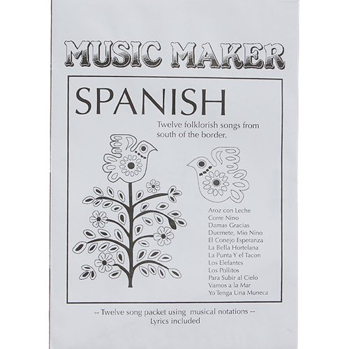 European Expressions Music Maker Spanish Song Packet