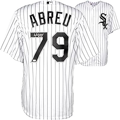 Jose Abreu Chicago White Sox Autographed Cool Base Authentic White Jersey - Fanatics Authentic Certified