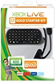 Xbox 360 Live 12 Months Messenger 400 Points Gold Starter Pack