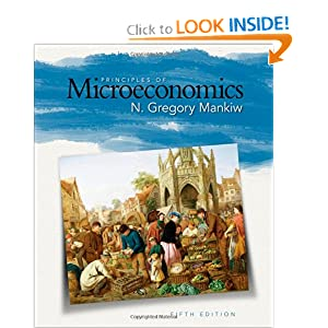 Nice image showing principles of microeconomics